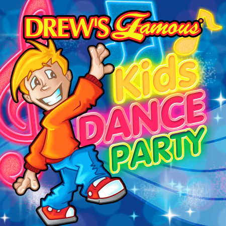 Drew's Famous Kids Dance Party 專輯封面