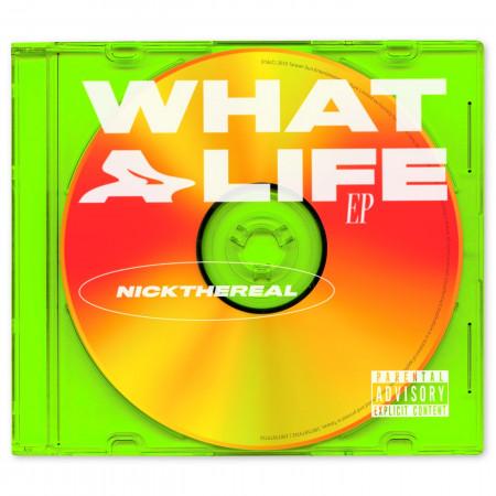 WHAT A LIFE 專輯封面