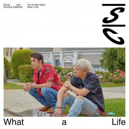 首張迷你專輯 『What a life 』 專輯封面