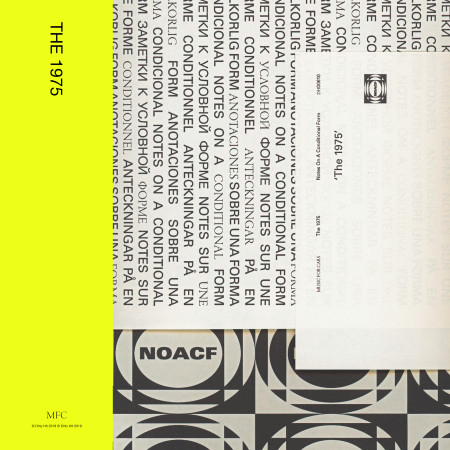 The 1975 專輯封面