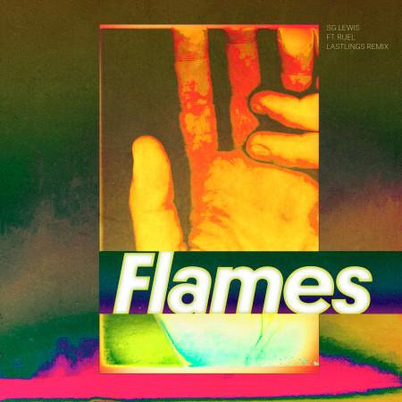 Flames (Lastlings Remix) 專輯封面