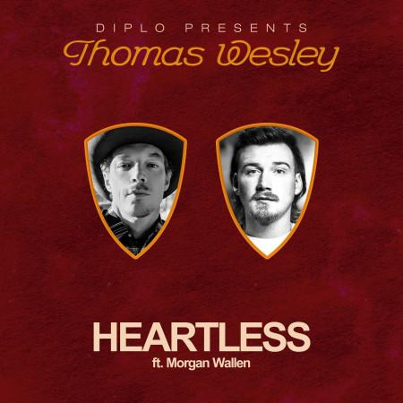 Heartless (feat. Morgan Wallen) 專輯封面