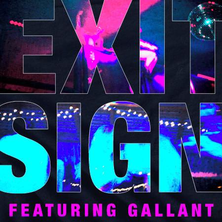 Exit Sign (feat. Gallant) 專輯封面