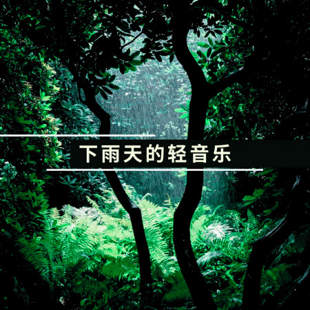 下雨天的輕音樂: 最適合一個人安靜在夜晚裏的看書音樂 專輯封面