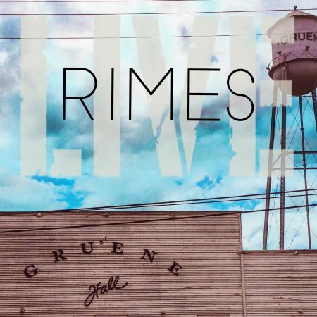 Rimes (Live at Gruene Hall) 專輯封面