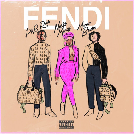 Fendi (feat. Nicki Minaj & Murda Beatz) 專輯封面