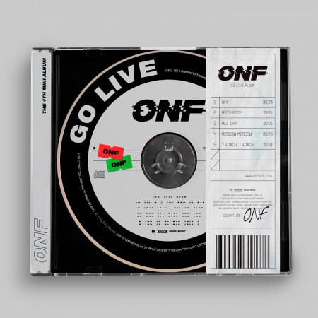 GO LIVE 專輯封面