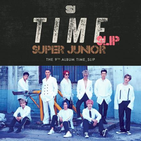 第九張正規專輯 『Time_Slip』 專輯封面