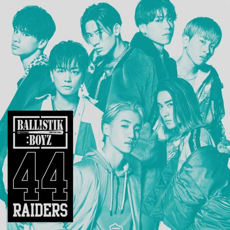 44RAIDERS 專輯封面