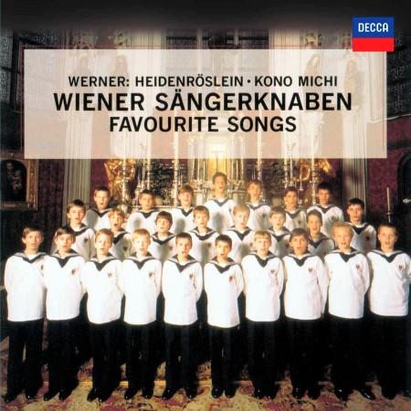Wiener Sängerknaben - Favourite Songs 維也納少年合唱團 - 最受歡迎名曲 專輯封面