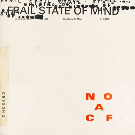 Frail State Of Mind 專輯封面