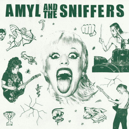 Amyl and The Sniffers 專輯封面