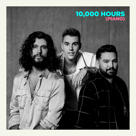 10,000 Hours (Piano) 專輯封面