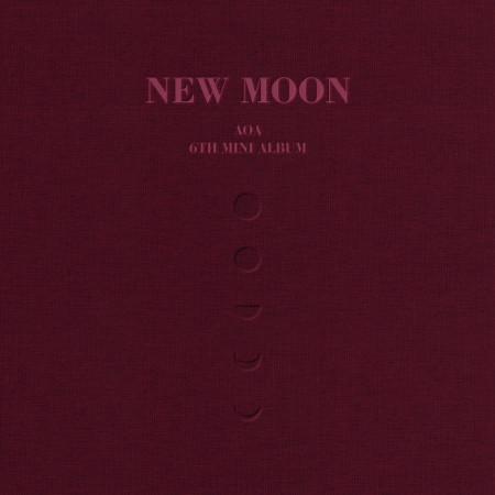 第6張迷你專輯 NEW MOON 專輯封面
