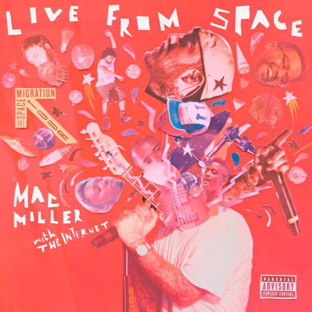 Live From Space 專輯封面