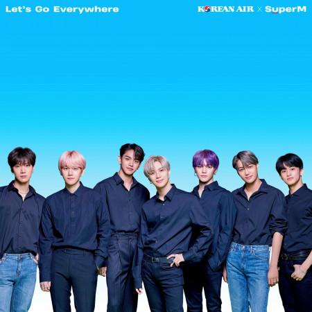 Let's Go Everywhere - Korean Air X SuperM 專輯封面
