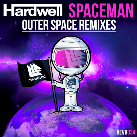 Spaceman (Outer Space Remixes) 專輯封面