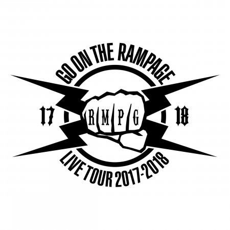 THE RAMPAGE LIVE TOUR 2017-2018 GO ON THE RAMPAGE 專輯封面
