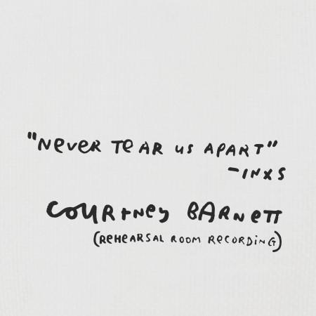 Never Tear Us Apart (Rehearsal Room Recording) 專輯封面