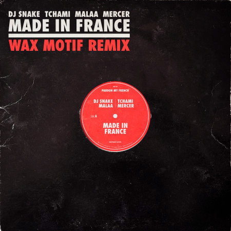 Made In France 專輯封面