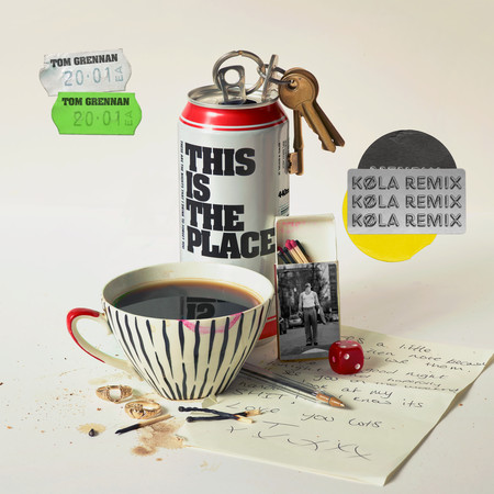 This is the Place (KØLA Remix) 專輯封面