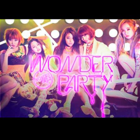 Wonder Party 專輯封面