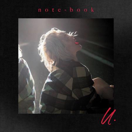 note-book -u.- 專輯封面