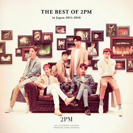 THE BEST OF 2PM in Japan 2011-2016 專輯封面