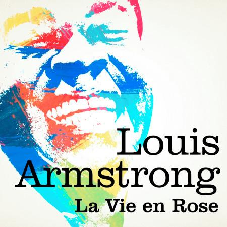 Louis Armstrong : La vie en rose 專輯封面