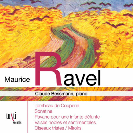 Maurice Ravel: Oeuvres pour piano 專輯封面