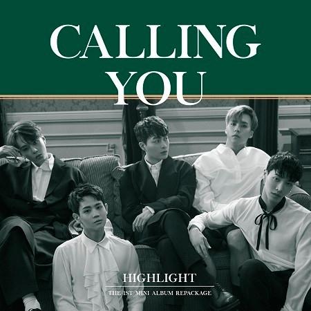 CALLING YOU 專輯封面