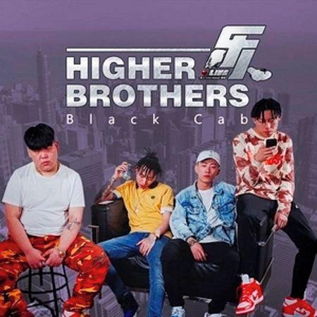 樂人·Live:Higher Brothers《Black Cab》(Live) 專輯封面