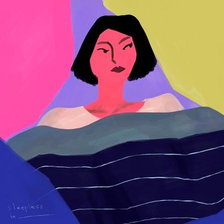 sleepless in __________ 專輯封面