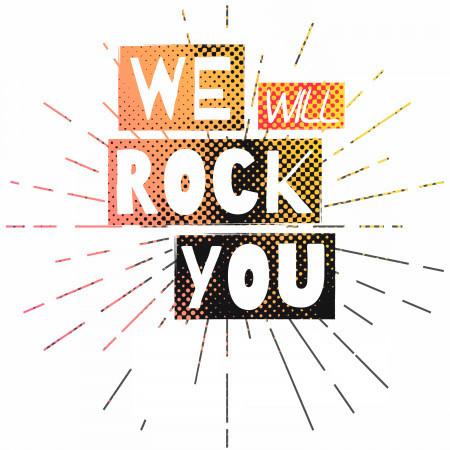 We Will Rock You 專輯封面