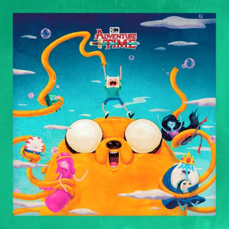Adventure Time, Vol. 2 (Original Soundtrack) 專輯封面