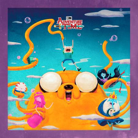 Adventure Time, Vol. 4 (Original Soundtrack) 專輯封面