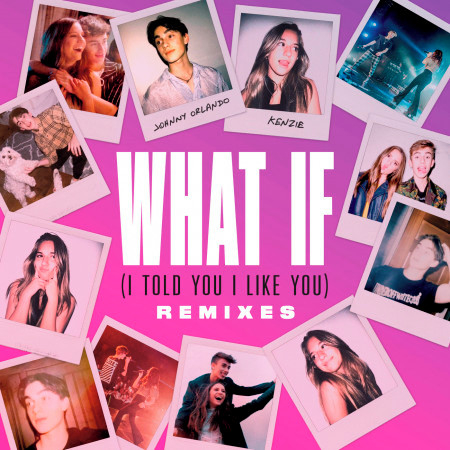 What If (I Told You I Like You) 專輯封面