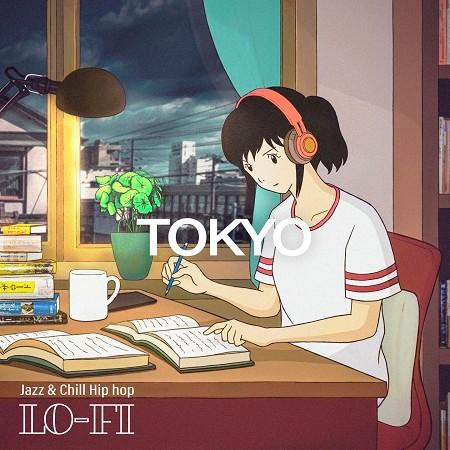 讀書女孩:Tokyo Lo-Fi Jazz & Chill Hip hop beats 專輯封面