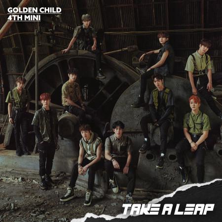 Golden Child 4th Mini Album [Take A Leap] 專輯封面