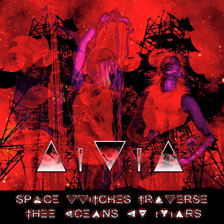 Space Witches Traverse Thee Oceans Ov Mars 專輯封面