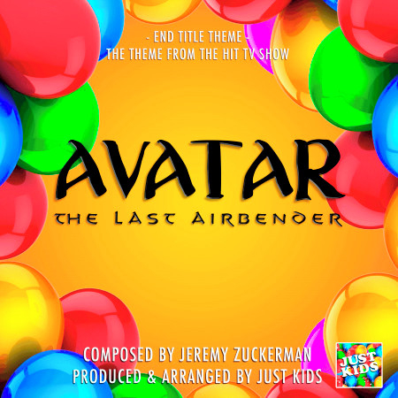 """End Title Theme (From """"Avatar The Last Airbender"""") 專輯封面"""