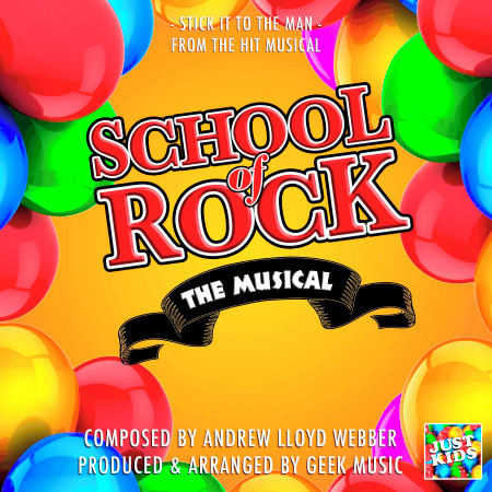 """Stick It To The Man (From """"School Of Rock The Musical"""") 專輯封面"""