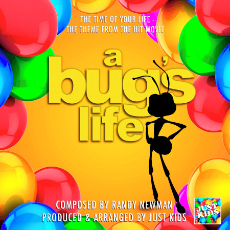 """The Time Of Your Life (From """"A Bug's Life"""") 專輯封面"""