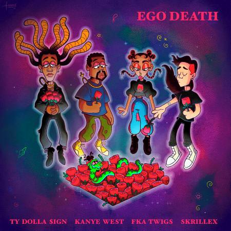 Ego Death (feat. Kanye West, FKA twigs & Skrillex) 專輯封面