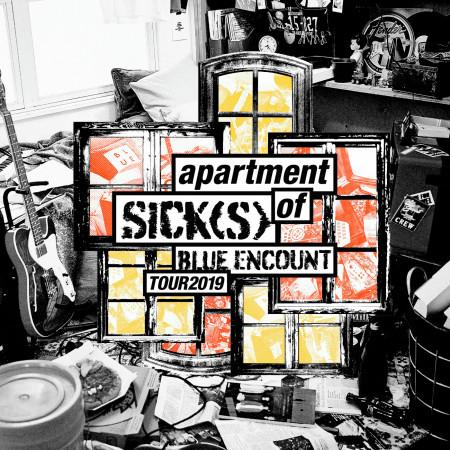 BLUE ENCOUNT HALL TOUR 2019 apartment of SICK(S) SET LIST 專輯封面