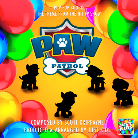 """Pup Pup Boogie (From """"Paw Patrol"""") 專輯封面"""