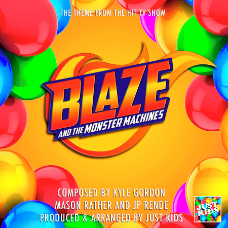 """Blaze And the Monster Machine (From """"Blaze And The Monster Machine"""") 專輯封面"""