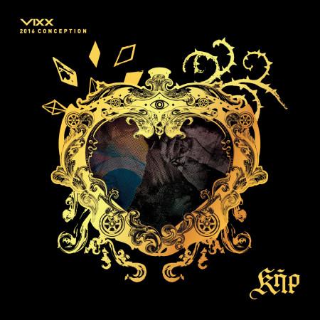 VIXX 2016 CONCEPTION KER Special Package 專輯封面