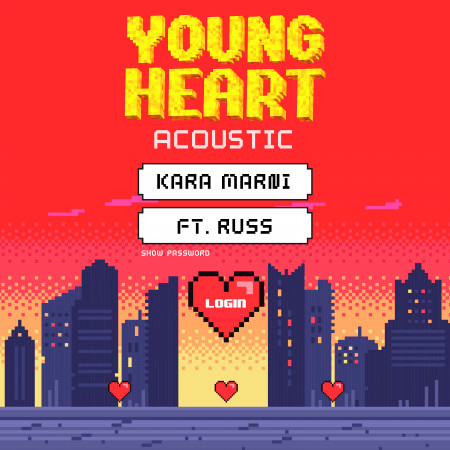 Young Heart (feat. Russ) (acoustic) 專輯封面