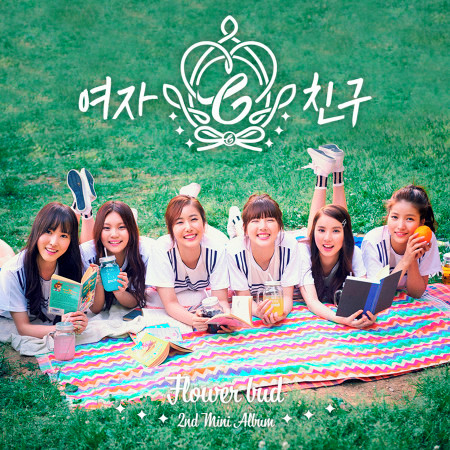 GFRIEND 2nd Mini Album 'Flower Bud' 專輯封面